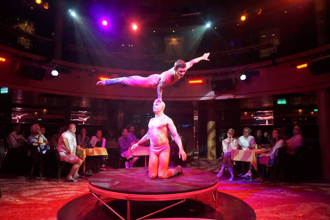 Cirque Dreams Epicurean on Norwegian Epic