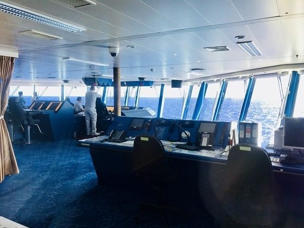 Bridge Viewing Room Norwegian Epic