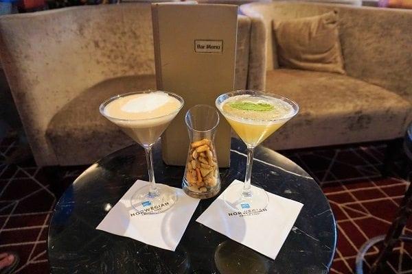 NCL Epic Shakers Martini Bar