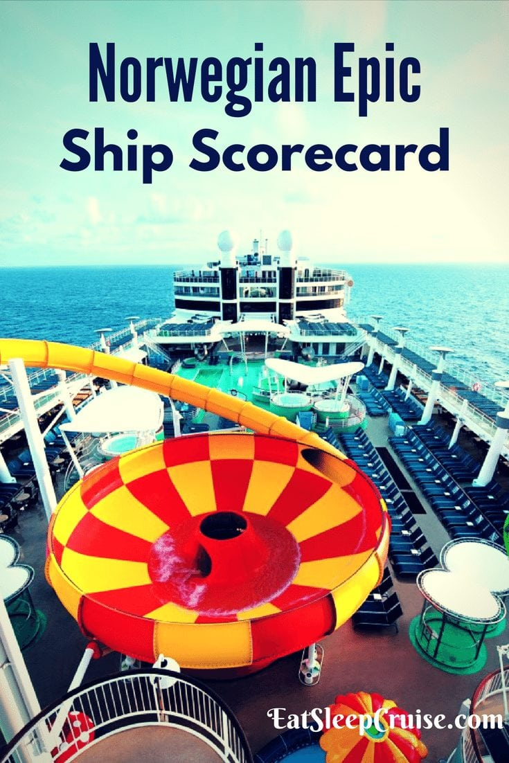Norwegian Epic Ship Scorecard