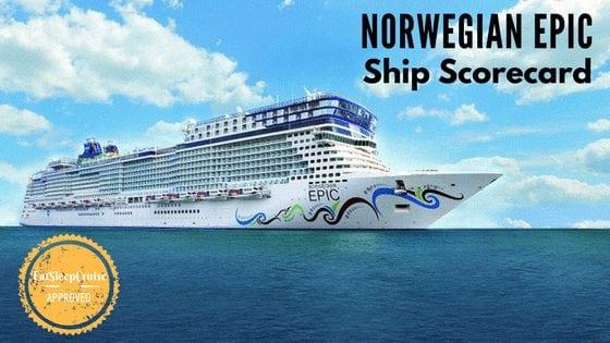 Norwegian Epic Ship Scorecard
