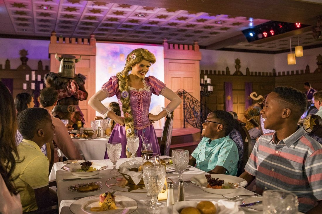 Rapunzel's Royal Table Cruise News March 18, 2018