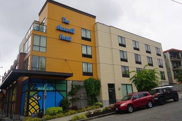 The Maxwell Hotel in Seattle, WA