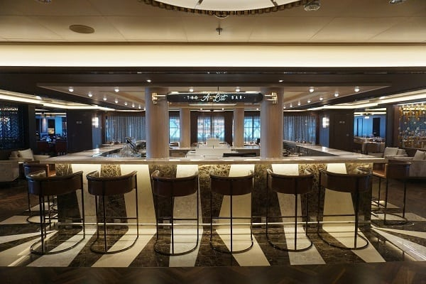 A-List Bar on Norwegian Bliss