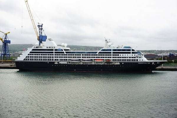 Azamara in Belfast, Northern Ireland