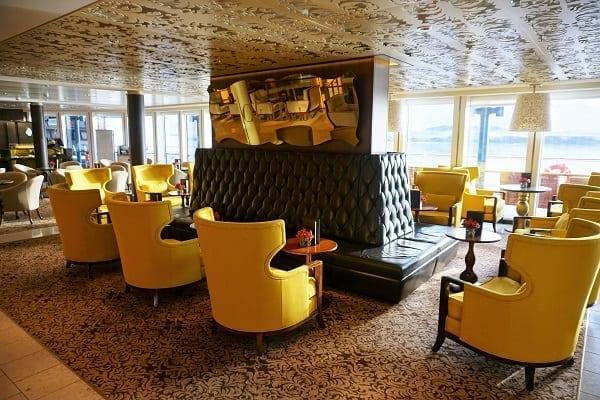 Cafe al Bacio Seating on Celebrity Eclipse
