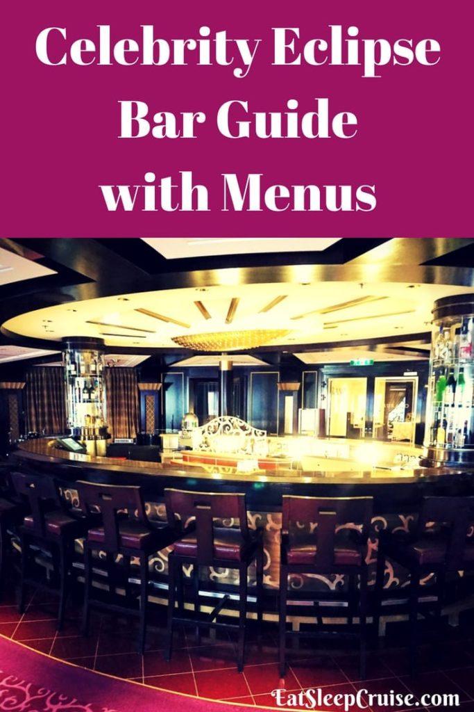 Celebrity Eclipse Bar Guide