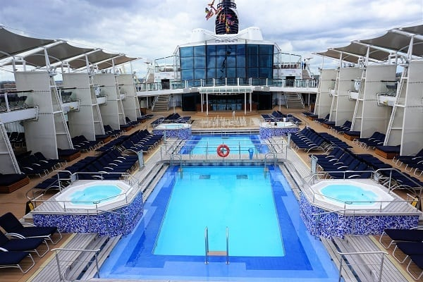 Sundeck on Celebrity Eclipse