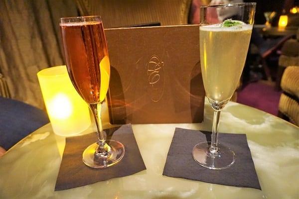 Drinks at Ensemble Lounge