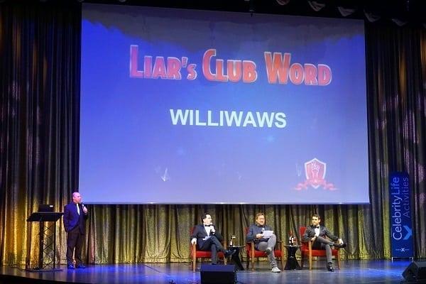 Liars Club on Celebrity Eclipse