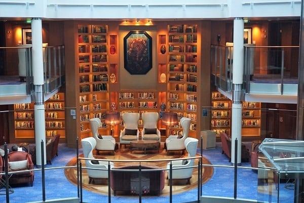 Library on Celebrity Eclipse