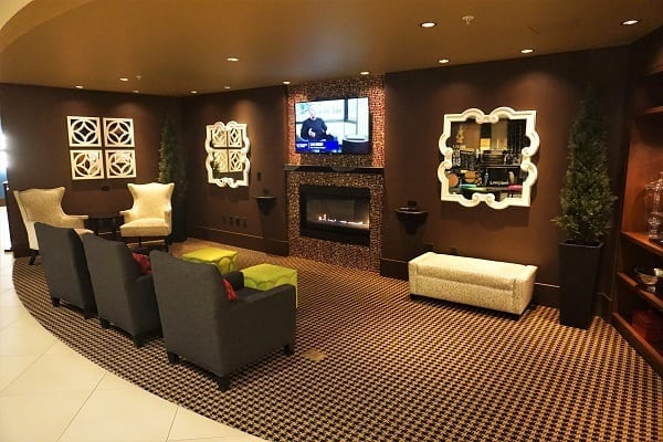 Lobby Area Maxwell Hotel Seattle