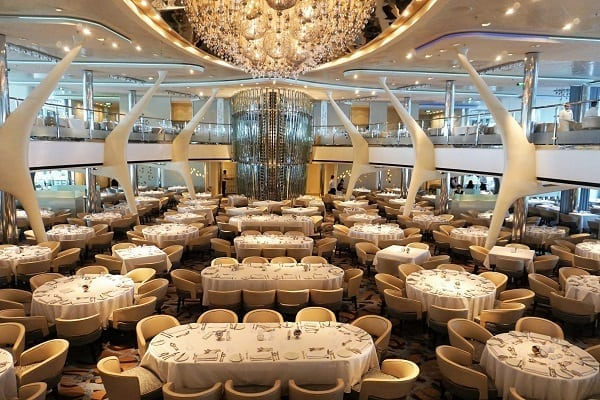 Main Dining Room Celebrity Eclipse