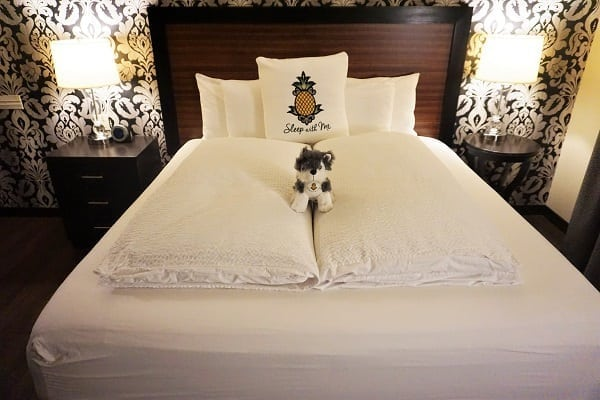 The Bed at Maxwell Hotel in Seattle