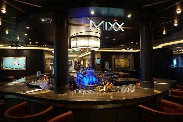 Mixx Bar on Norwegian Bliss