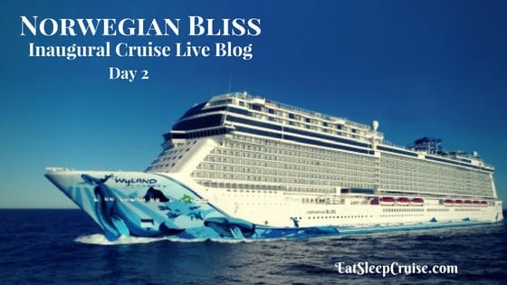 Norwegian BLiss Live Blog Day 2 Feature