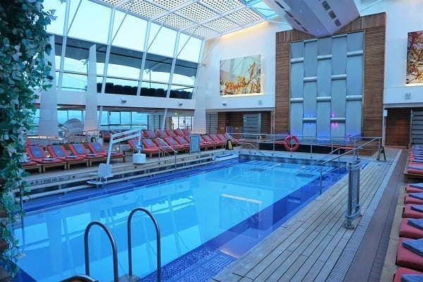 Solarium on Celebrity Eclipse