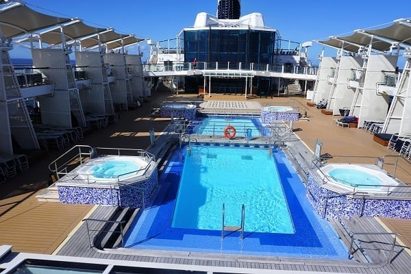 Sun Deck on Celebrity Eclipse