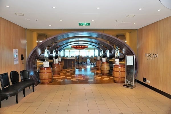 TUscan Grille Celebrity Eclipse