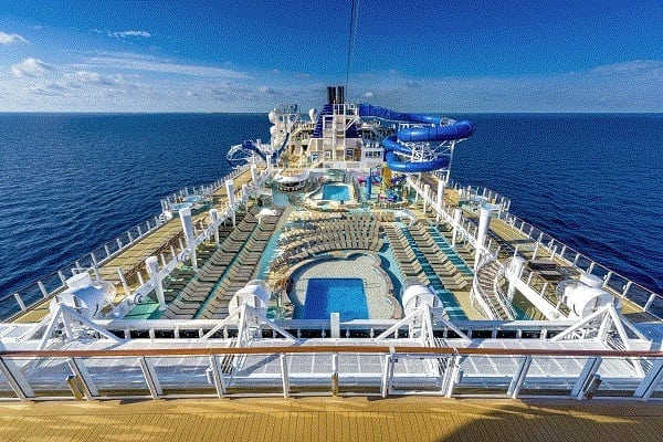 Pool Deck on Norwegian Bliss