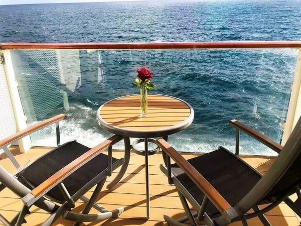 Balcony on Celebrity Eclipse