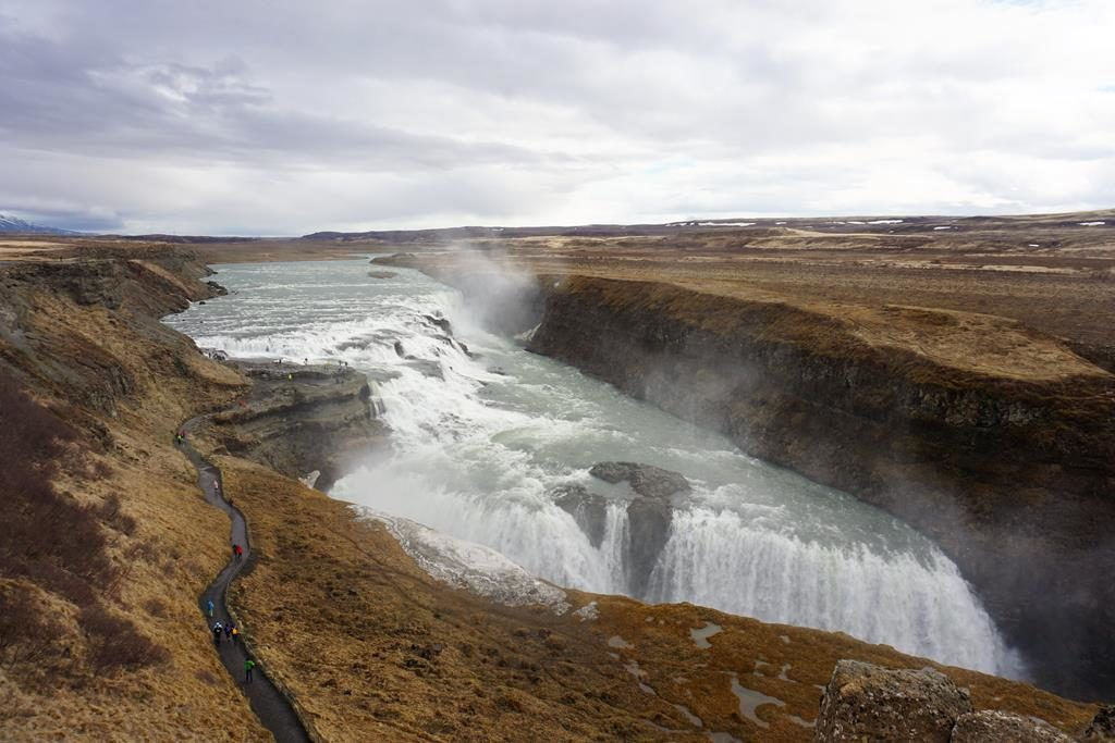 Visiting the Golden Circle in Reykjavik, Iceland on a Cruise