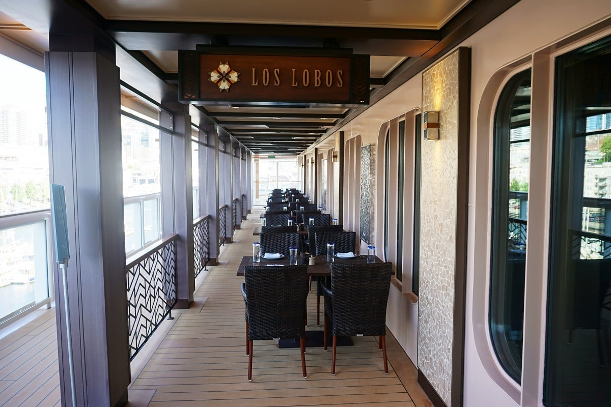 Los Lobos On Norwegian Bliss Restaurant Review