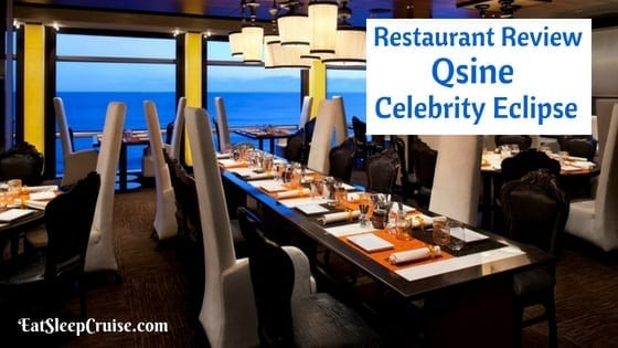 Luxury Experience - Qsine onboard the Celebrity Cruises ...