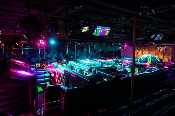 Laser Tag Course on Mariner of the Seas