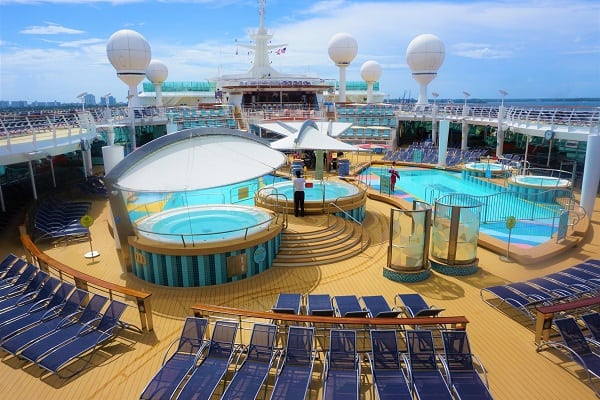 Mariner of the Seas Ship Scorecard Pool Deck