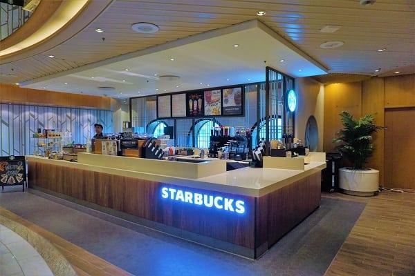 Starbucks on Mariner of the Seas
