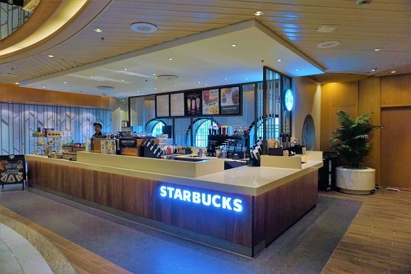 Starbucks on Mariner of the Seas