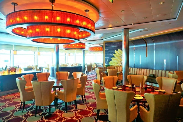 Inside Tuscan Grille on Celebrity Eclipse