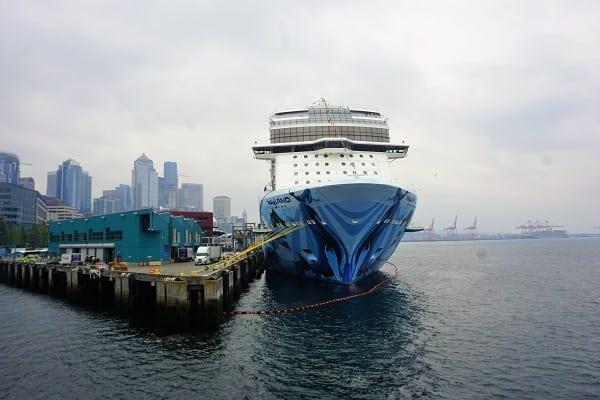 Norwegian Bliss Docked in Seattle