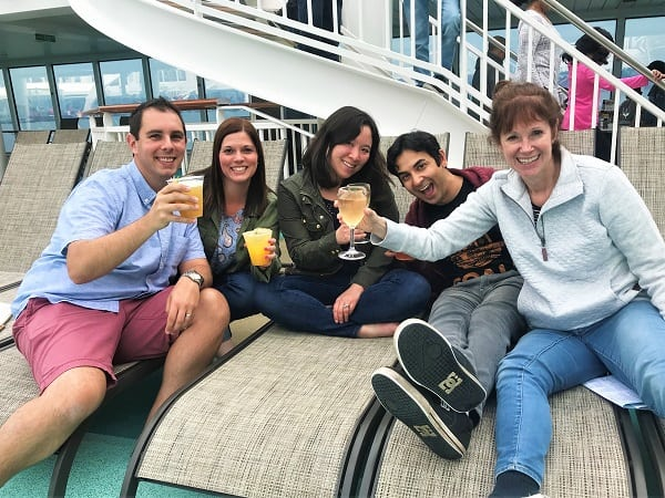 Norwegian Bliss Sailaway Party