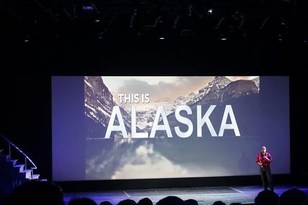 This is Alaska on Norwegian Bliss