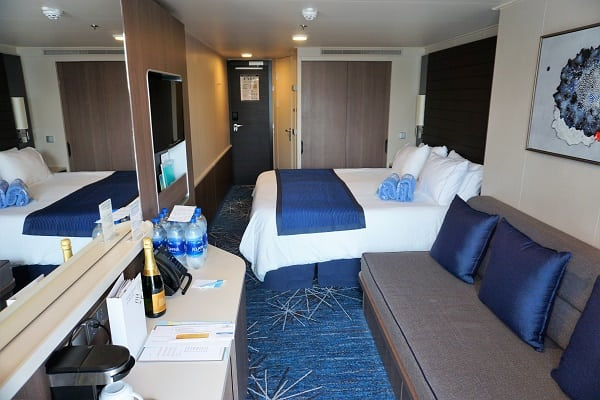 Balcony Cabin on Norwegian Bliss