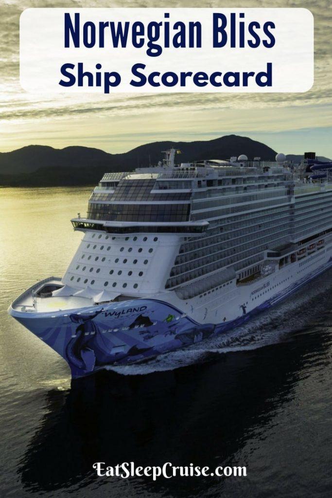 Norwegian Bliss Ship Scorecard Review