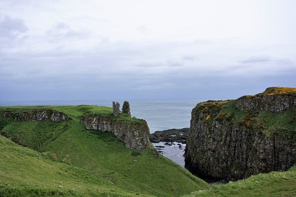 Dunseverick castle from Game of Thrones Tour of Belfast Northern Ireland