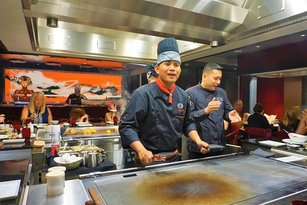 Our Chef at Izumi Hibachi
