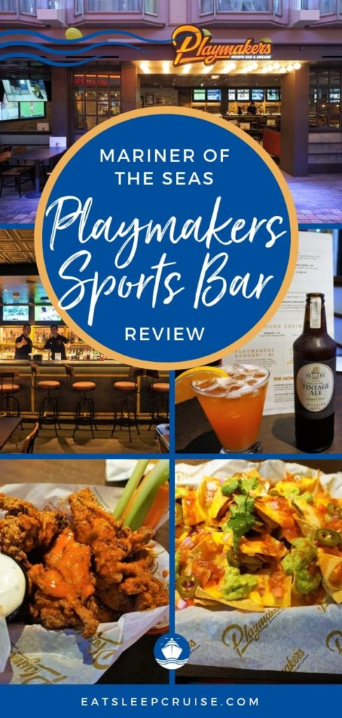 Playmakers Sports Bar Review from Mariner of the Seas