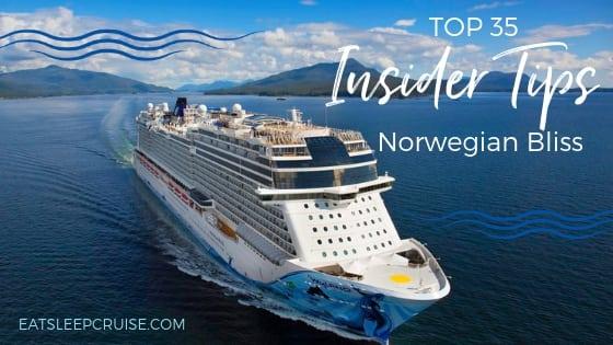 Norwegian Bliss Cruise Secrets