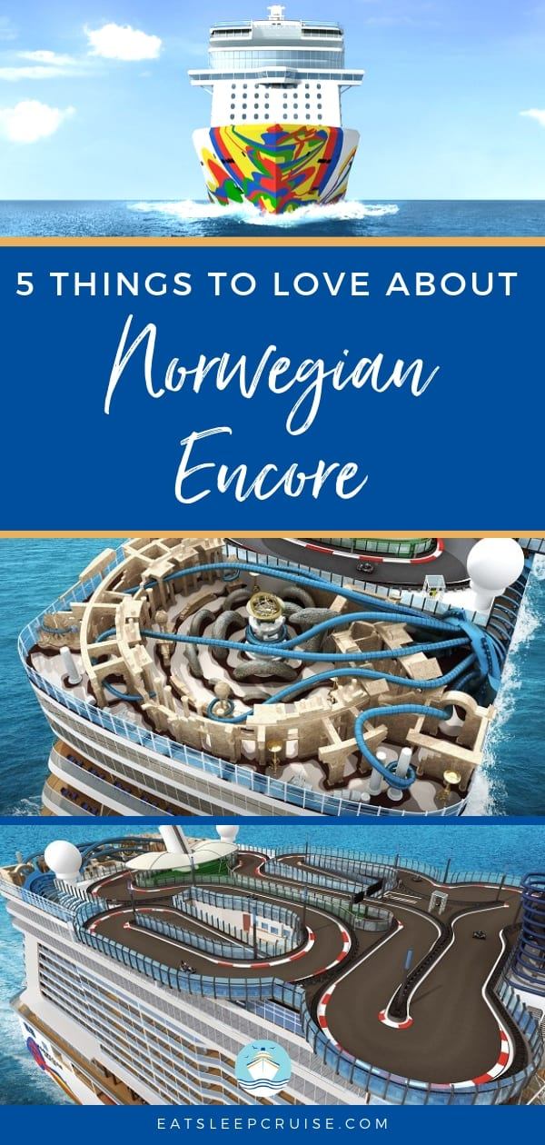 5 Things to Love About New Norwegian Encore
