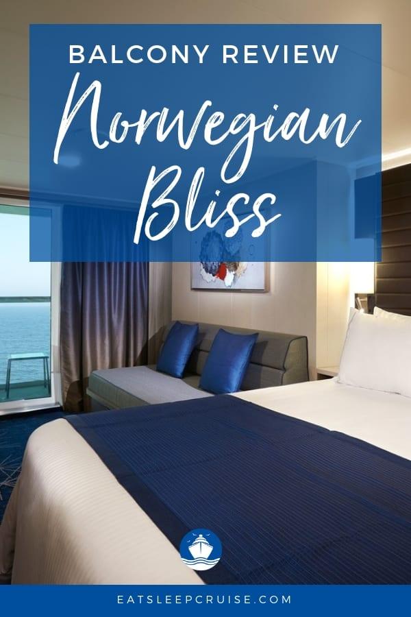 Balcony Review Norwegian Bliss