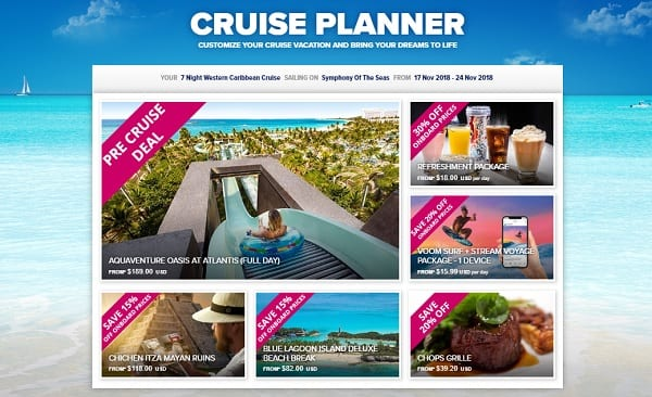 Royal Caribbean International Cruise Planner