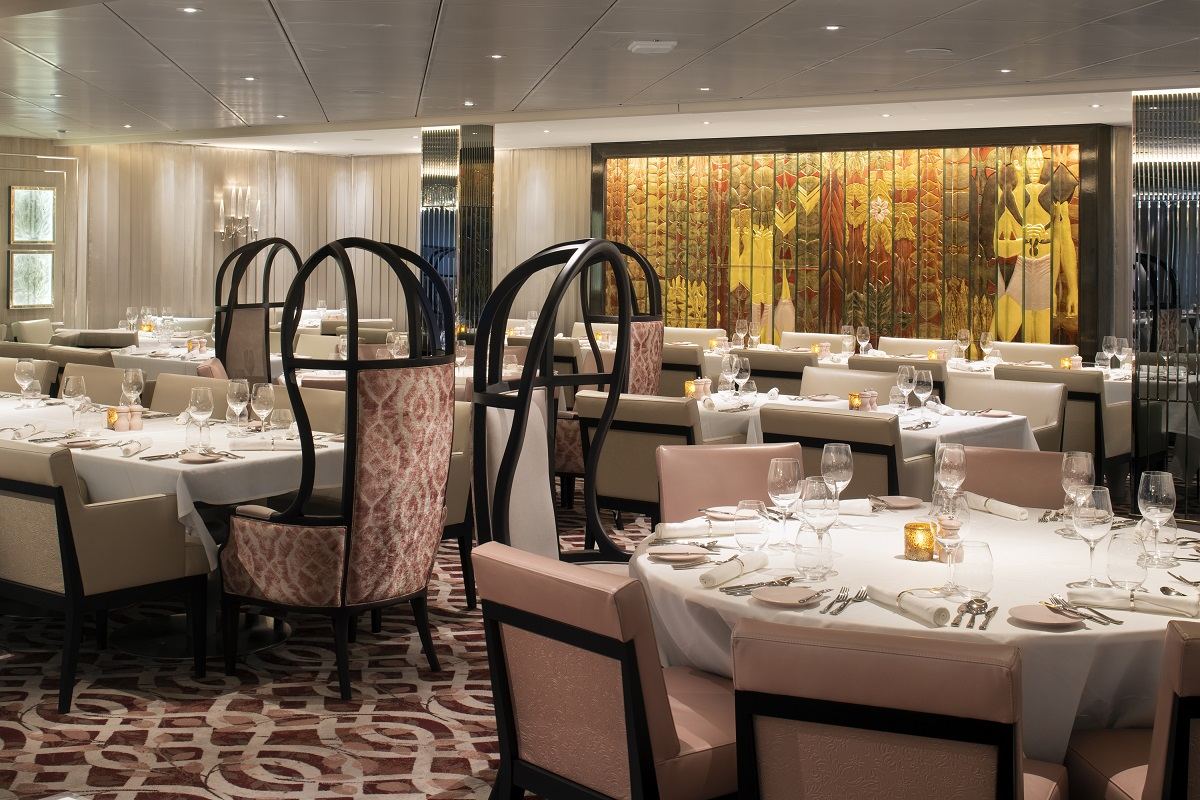 Celebrity Edge Restaurant Menus and Guide