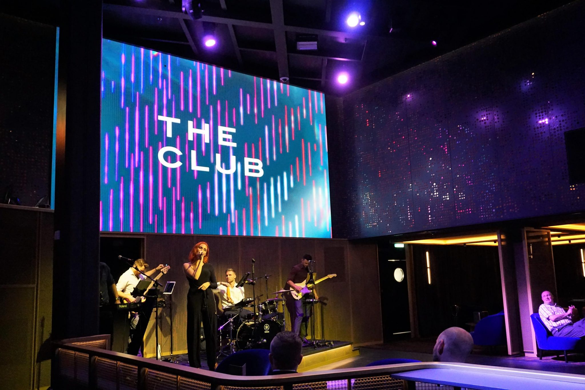 Impulse at The Club on Celebrity Edge