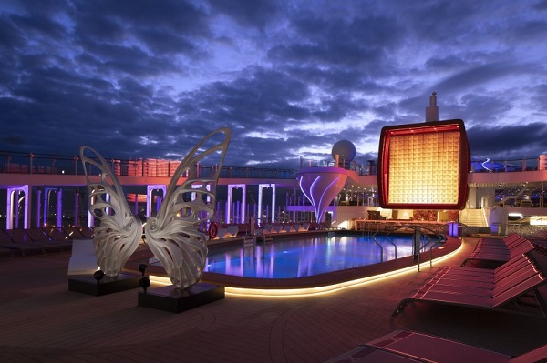 Resort Deck on Celebrity Edge