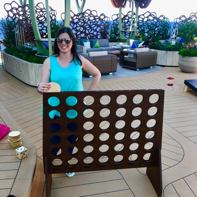 Celebrity Edge Rooftop Garden Lawn Games