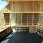 Sea Thermal Suites Sauna on Celebrity Edge